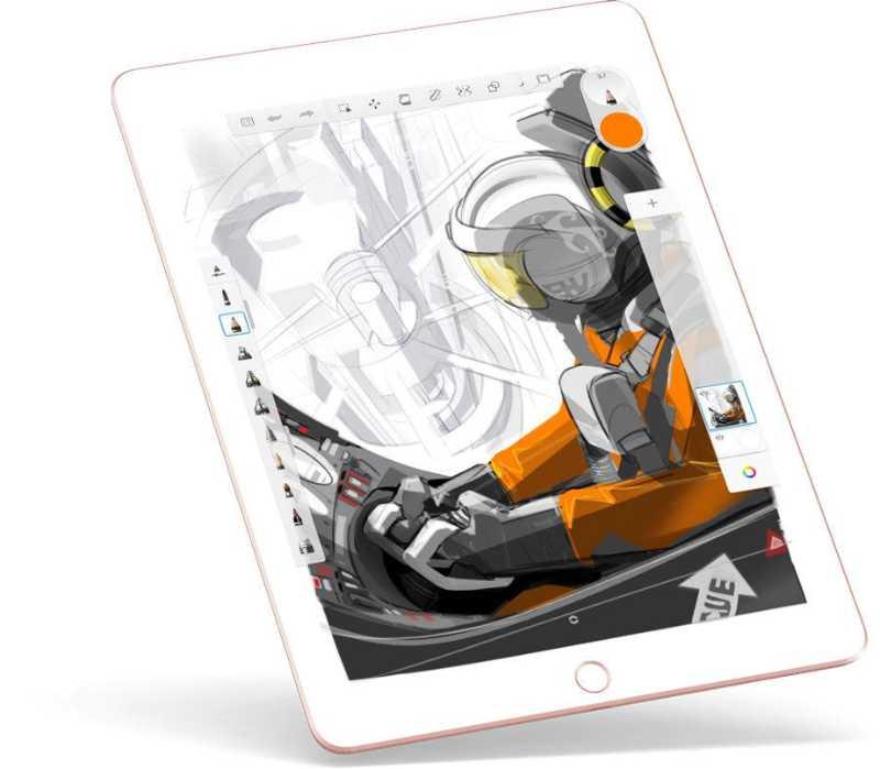 Las mejores aplicaciones de dibujo y pintura digital para iPad - pixelanium - autodesk sketchbook