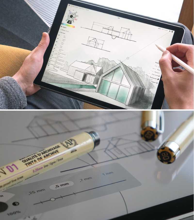 Las mejores aplicaciones de dibujo y pintura digital para iPad - pixelanium - concepts