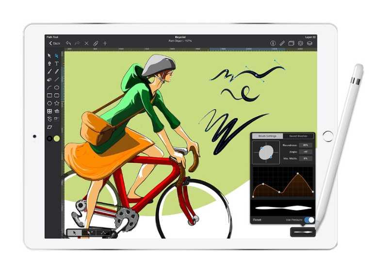 Las mejores aplicaciones de dibujo y pintura digital para iPad - pixelanium - graphic