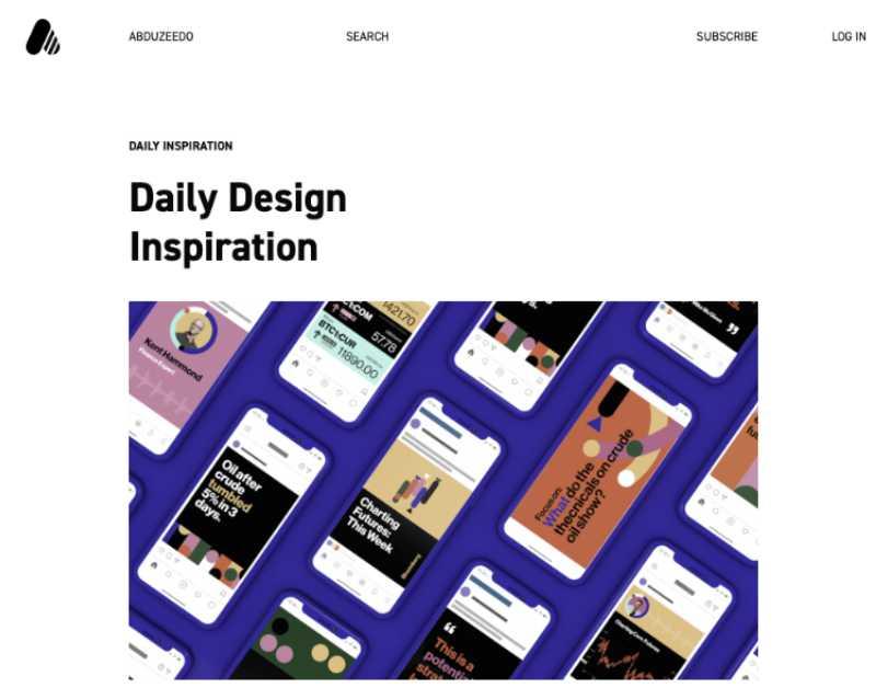 Los 25 mejores blogs de diseño para este 2020 - 14 - pixelanium