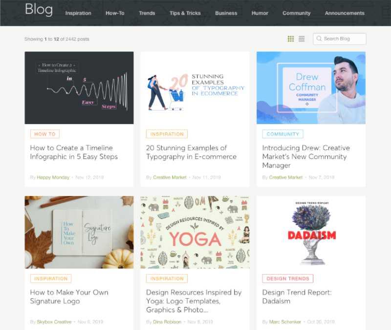 Los 25 mejores blogs de diseño para este 2020 - 5 - pixelanium