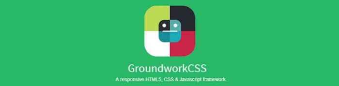 groundworkcss - pixelanium - las 30 mejores alternativas a bootstrap