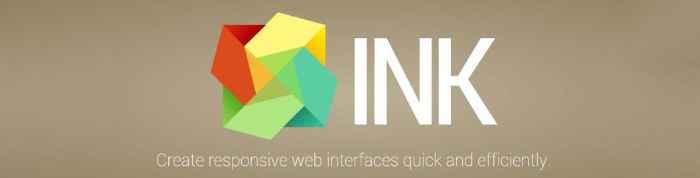 ink - pixelanium - las 30 mejores alternativas a bootstrap