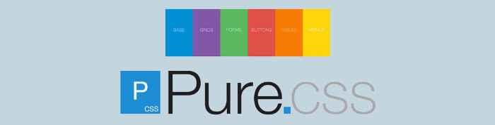 pure css - pixelanium - las 30 mejores alternativas a bootstrap