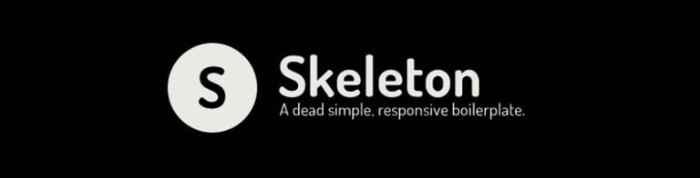 skeleton - pixelanium - las 30 mejores alternativas a bootstrap