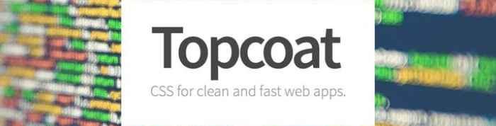 topcoat - pixelanium - las 30 mejores alternativas a bootstrap
